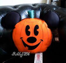 2020 Disney Home Halloween Mickey Mouse Jack O Lantern Hey Pumpkin Throw Pillow