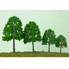 20pcs Model Trees Train Railroad Diorama Wargame Park Scenery HO scale 60mm Hot