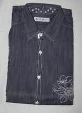 ORIGINAL JOE BLACK  Denim Bleu brodée 12 ans neuf