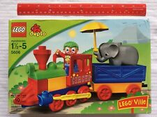 Lego Duplo 5606 My First Train CIRCUS Clown Elephant Animal Umbrella NEW SEALED