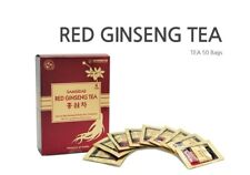 Geumsam 6 year Korean Red Ginseng Powdered Tea,  18% Extract, 50 packs