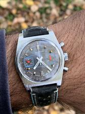 Orologio Watch Pierre Bonnet Chronograph Valjoux 7733 Vintage Swiss Made