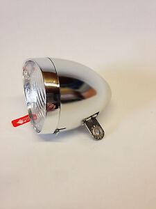 Fahrrad Lampe LED Licht Retro Klassik Beleuchtung Rücklicht Frontlicht Nostalgie