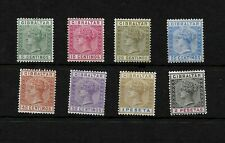 Gibraltar, 1889 QV selection to 2p MM * (G013)