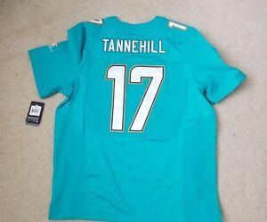 $295 NEW Nike Elite Miami Dolphins Jersey RYAN TANNEHILL 599964-314 Mens Sz. 52