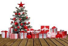 7x5ft Christmas Theme Photography Backgrounds Gifts Studio Photo Shoot Backdrops