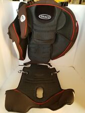 Graco Nautilus Black & Red Convertible Car Seat Cover Cushion Replacement 2015