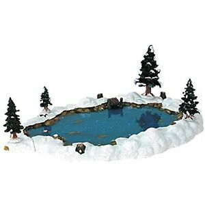 Lemax Christmas Vail Village Collection Mill Pond 6-Piece Set # 94387