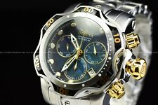 Invicta 53mm Venom Gen III Swiss Mother of Pearl Black Dial Silver Chrono Watch