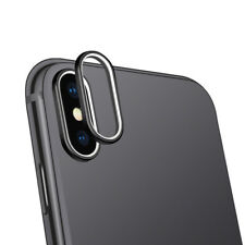 Metal Rear Back Camera Protector Lens Ring Case Cover For iPhone X 7 8 Plus