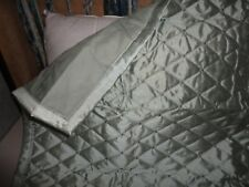 Croscill Lux Diamond Quilted Blue (1) Euro Pillow Sham 26 X 26