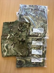 Job Lot 5 Pairs Brand New British Army MTP Warm Weather Trousers. Size 70/80/96