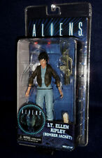 "Aliens Series 12 LT. ELLEN RIPLEY (BOMBER JACKET) 7"" Scale Action Figure NECA"