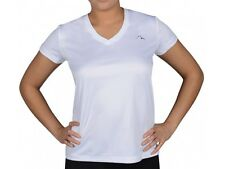 More Mile M-Tech Dry Ladies S/Sleeve Running Top Size 14 BNWT RRP £20.94 White