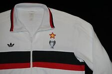 Rare Adidas Originals AC Milan MEDIOLANUM Football Retro 1989 Track Top X-LARGE