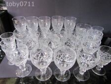 Wine Glass Crystal & Cut Glass