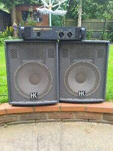 12 inch Speakers And Amp