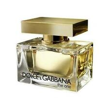 The One by Dolce & Gabbana 2.5 oz EDP Perfume for Women Brand New Tester