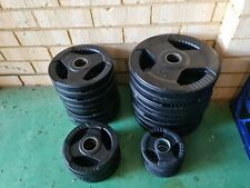 Olympic Weight Plates Rubber coated 135kg total
