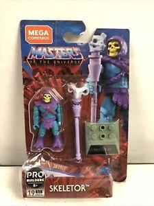 Masters of the Universe Mega Construx Leo Builders Skeletor New In Damaged Pkg