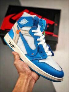 Nike Air Jordan 1 X Offwhite UNC