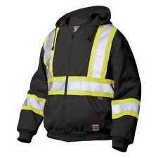 WORK KING S49421 3XL Hi-Vis Sweatshirt, Black
