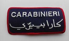 PATCH TARGHETTA CARABINIERI MISSIONI NATO