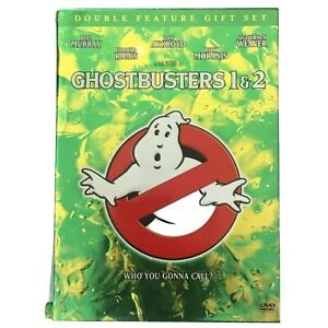 Ghostbusters 1 & 2 DVD and Book Double Feature Gift Box Set Region 1