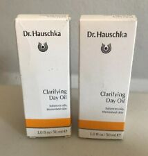 Dr Hauschka Clarifying Day Face Oil Facial 1 oz / 30mL Acne Blemishes 10/17