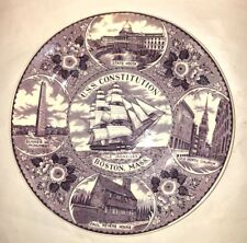 "Enco National U.S.S. Constitution ""Old Ironsides"" Boston Plate Wedgwood?"