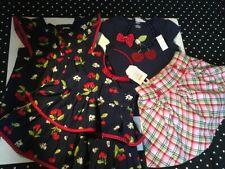 Gymboree Cherry Cute cherries top skort skirt necklace headband hair jewelry 6