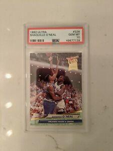1992 - 1993 Fleer Ultra Shaquille O'Neal #328 RC ROOKIE! PSA 10!! GEM MINT! SHAQ