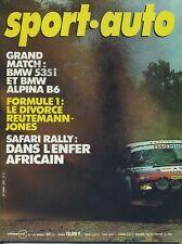 SPORT AUTO n°232 05/1981 avec encart et poster