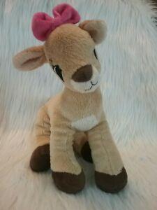 "Dan Dee Rudolph Red Nosed Reindeer Clarice Plush 12"""