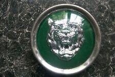 Genuine Jaguar Growler VERDE BRG RUOTA Badge Centro Coprimozzo hub cap