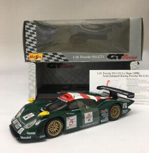1:18 1998 Zakspeed Racing Porsche 911 GT1 Diecast by Maisto *Mint* Metal Model