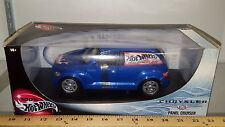 1/18 HOT WHEELS CHRYSLER PT PANEL CRUISER BLUE HOT WHEELS DELIVERY rd