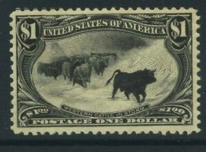 US 1898 $1 MINT NH Sc 292 Cat $3750