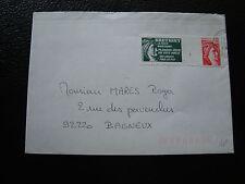 FRANCE - enveloppe 1980 bretigny-sur-orge (vignette de protestation) (cy80) (U)