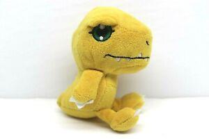 "Digimon Classic Original Mini Plush 5"" Figure Zag Toys - Agumon"