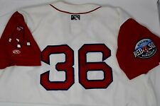 Boston Red Sox Salem Minor League 2009-2011 Game Used Jersey #36 incl. Maxwell