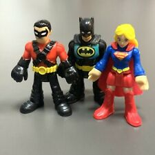 LOT Imaginext DC Comics Power Ranger Batgirl Batman Fisher-Price Figure boy toy