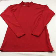 UNDER ARMOUR - XL - Compression Shirt- Long sleeve - Mens Red
