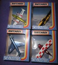 Job Lot Bundle Of Four 1981 Matchbox Skybusters SB-2 SB-9 SB-12 SB-25 Boxed