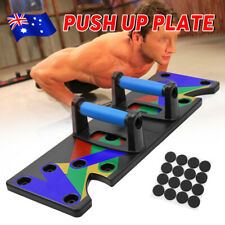 9 in1 Push Up Board Stand Gym Fitness Workout Exercise Muscle Training Equipment