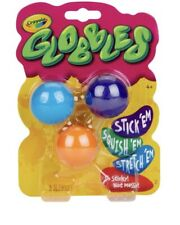 Crayola 3ct Globbles - Fidget Toy for Kids - Assorted Colors - TikTok IN HAND!!!
