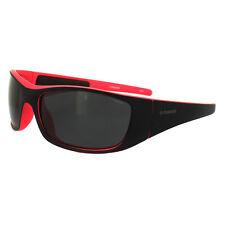 Polaroid lunettes de soleil sport P7420 G48 Y2 noir & rose gris dégradé