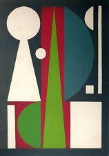 Auguste Herbin, Témoignages pour l'art abstrait, 1952, Hand Signed Lithograph
