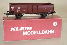 KLEIN MODELLBAHN 3077 DB OFFENER GÜTERWAGEN STEEL SIDED MINERAL WAGON 088-7 ni
