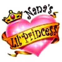 Nana lil princess t shirt girl one piece infant toddler youth US size *